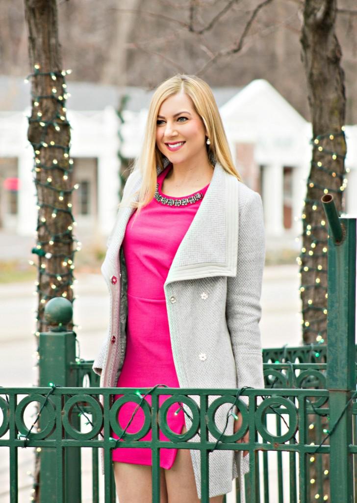 Jessica Simpson Dress + Waist Coat