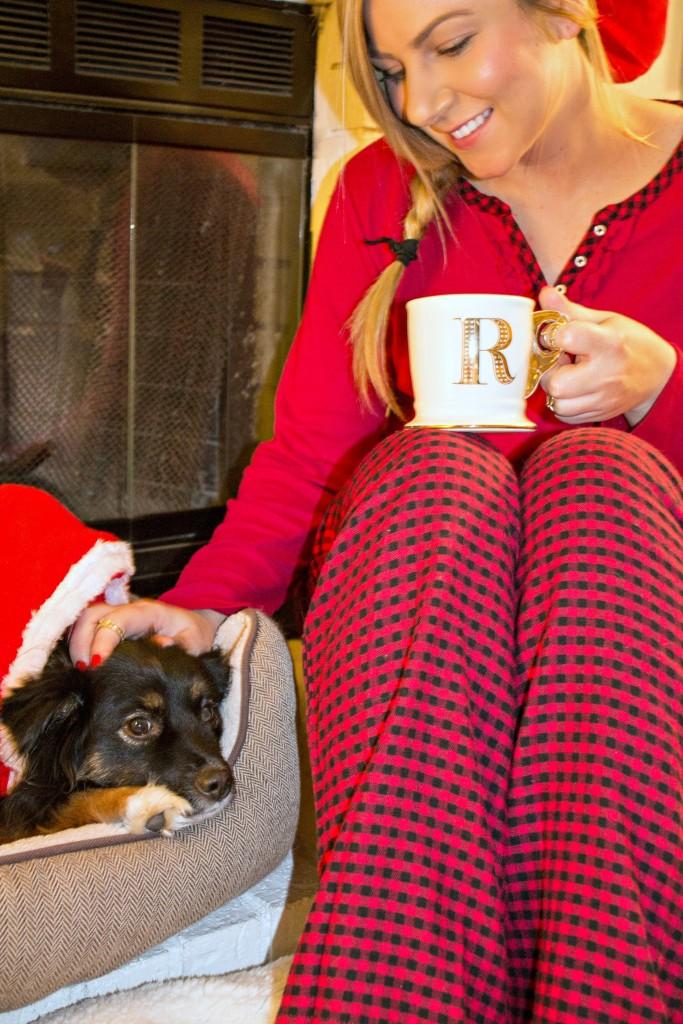 Relaxing At Home - Holiday Pajamas