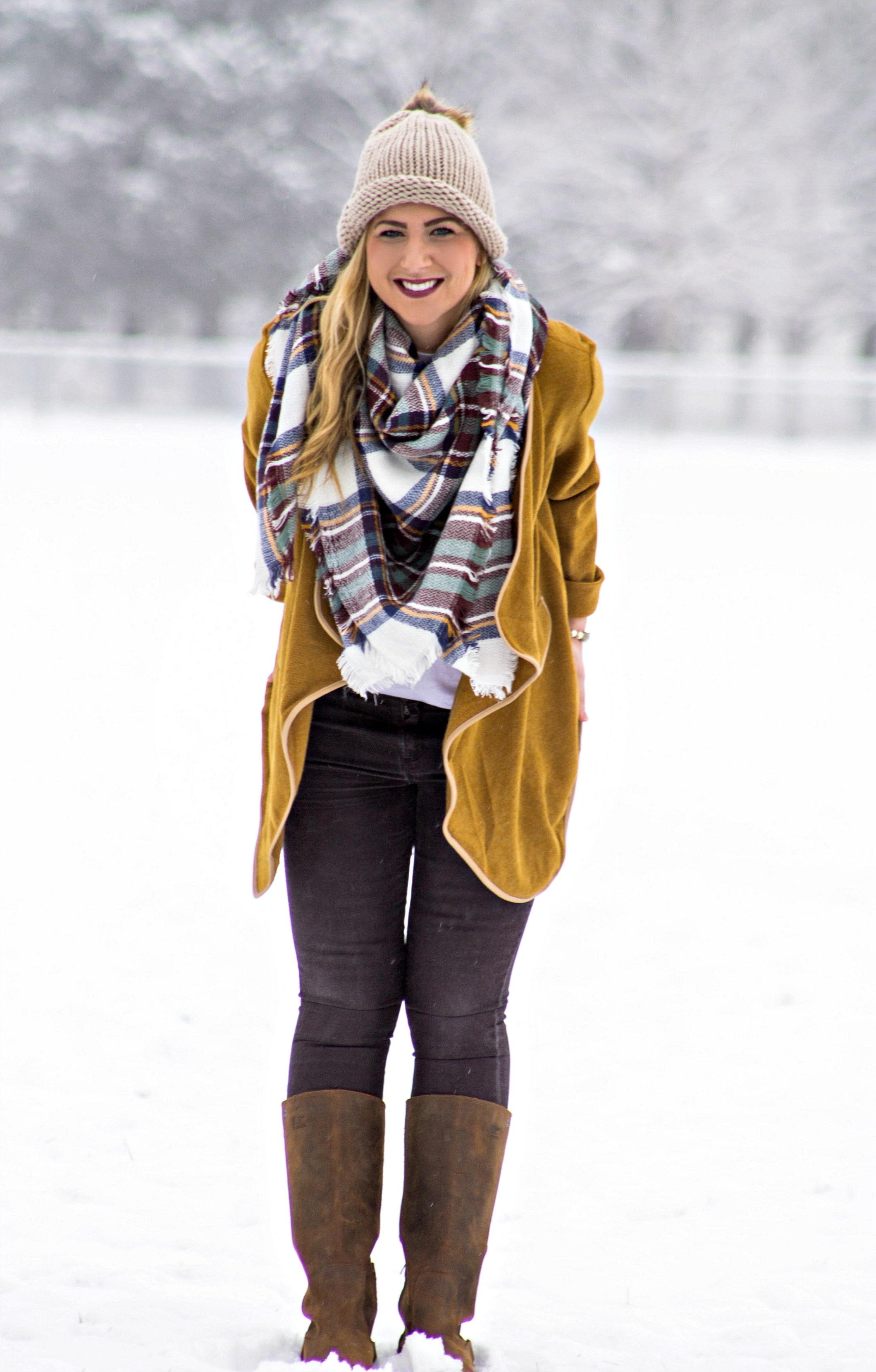 Blanket Scarf Style
