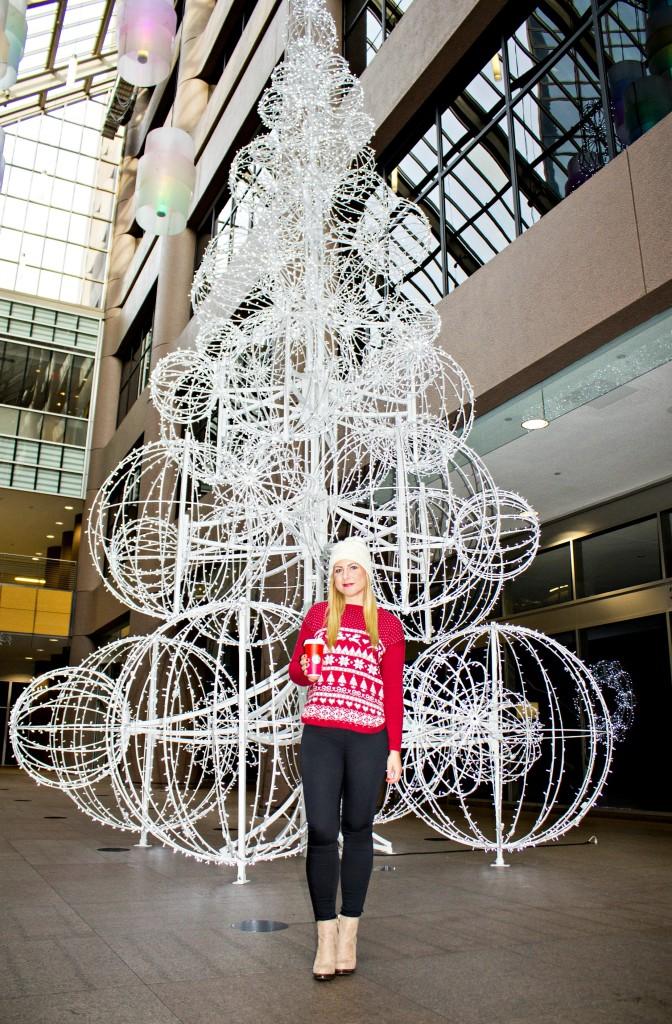Downtown Christmas Tree Display
