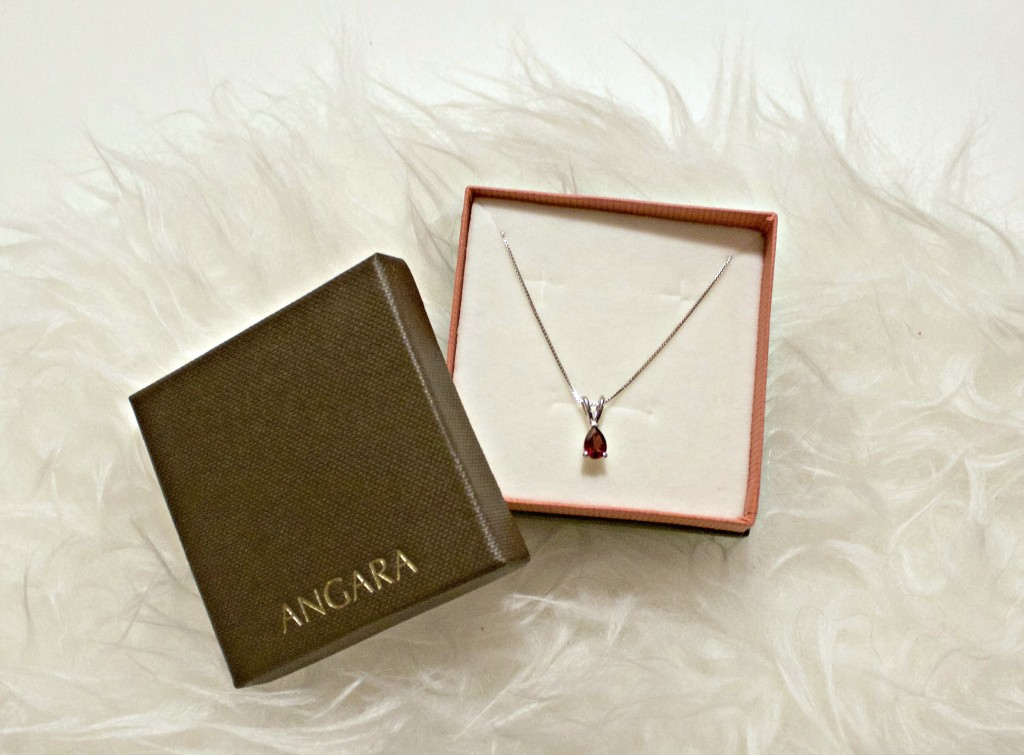 Garnet Gemstone Necklace