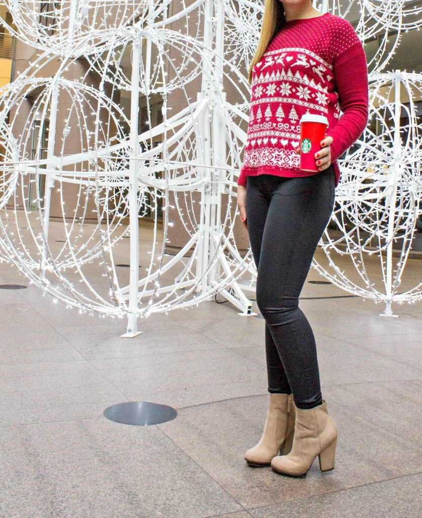 Holiday Style in Fair Isle Sweater