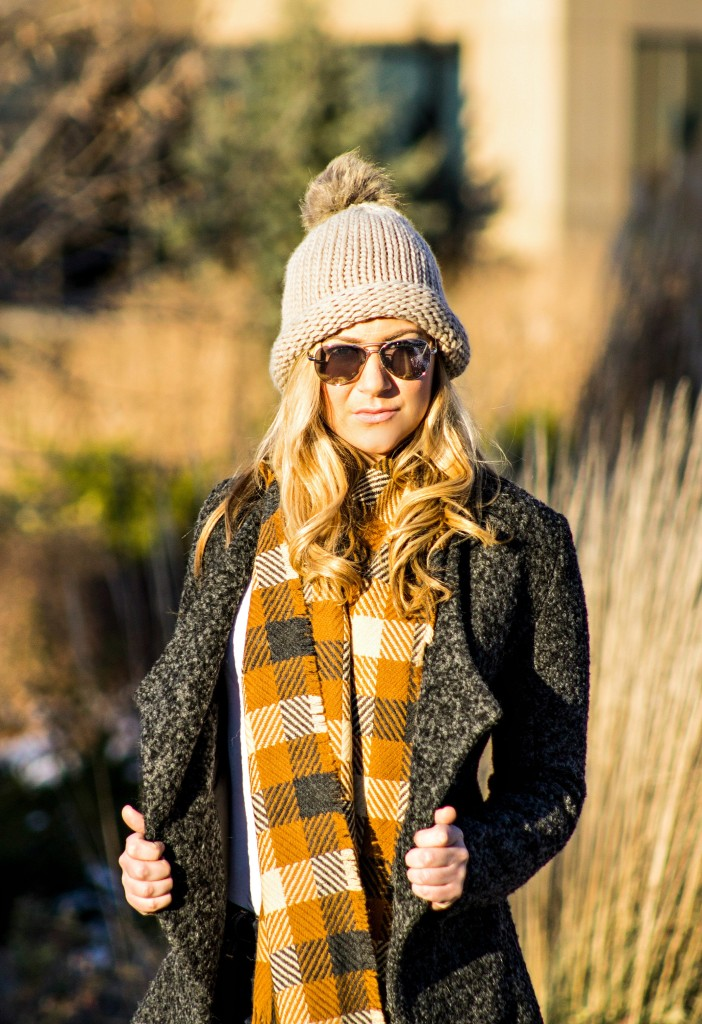 Open-Face Jacket + Scarf