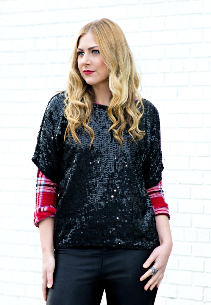 Vintage Sequin Shirt Style