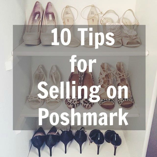 10 Tips for Selling on Poshmark