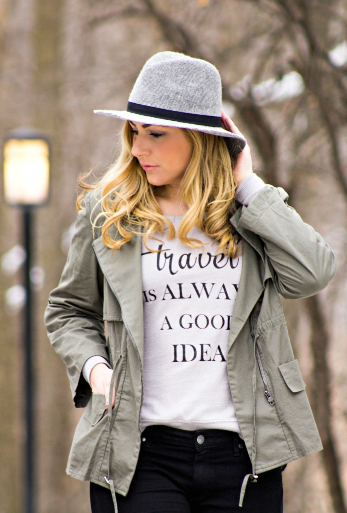 Wool Fedora + jacket