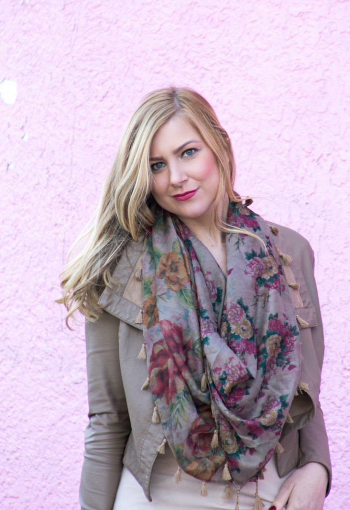 The Floral Scarf