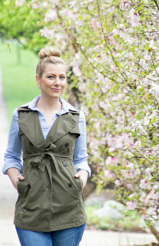 Spring Style - Trench Vest Looks