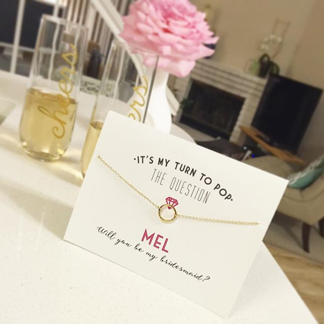 Mel - bridesmaid