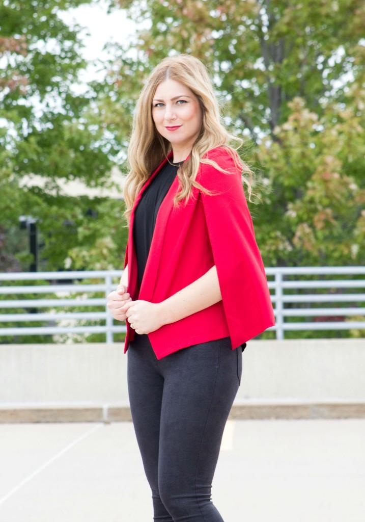 red-cape-blazer-black-jeans