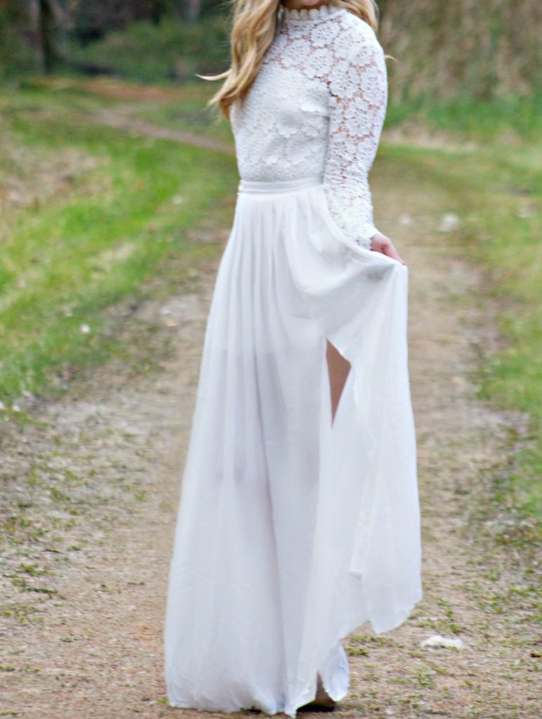 white-dress-style