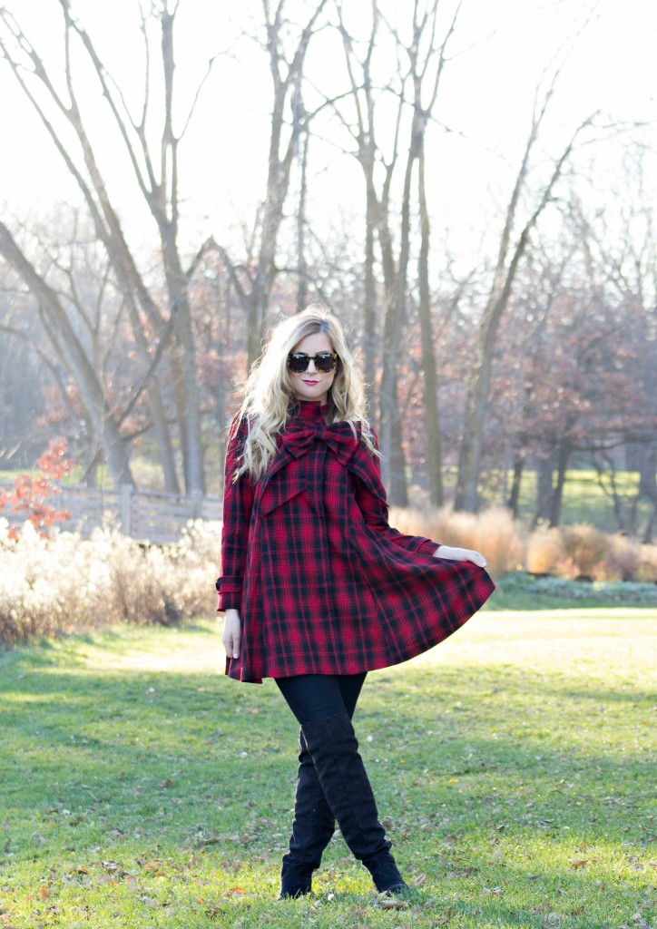 red-tartan-dress