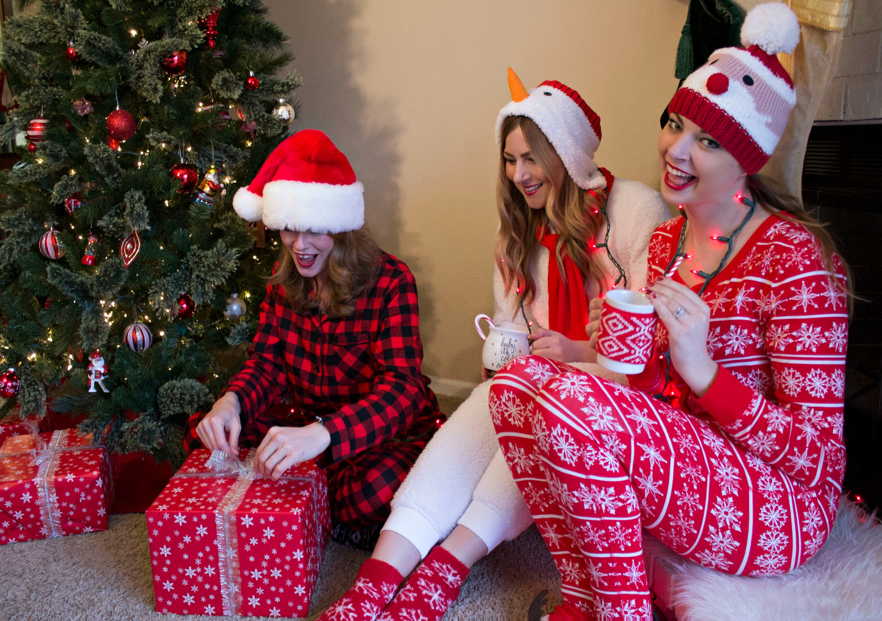 pajama christmas party ideas