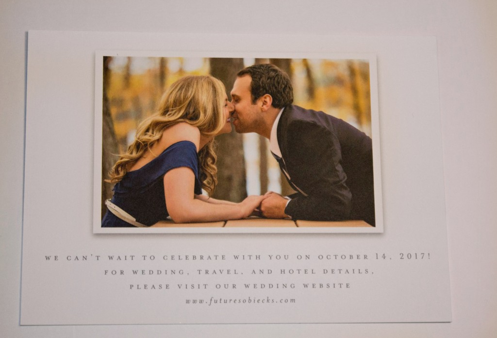 Back of our Save the Date