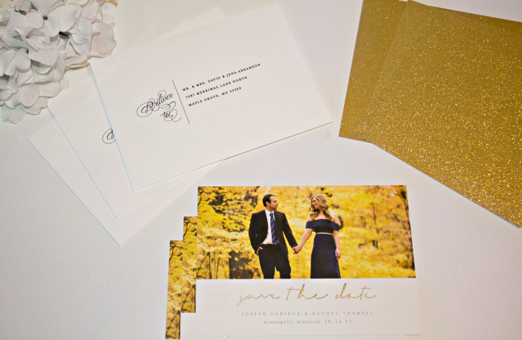 Our Minted save the dates