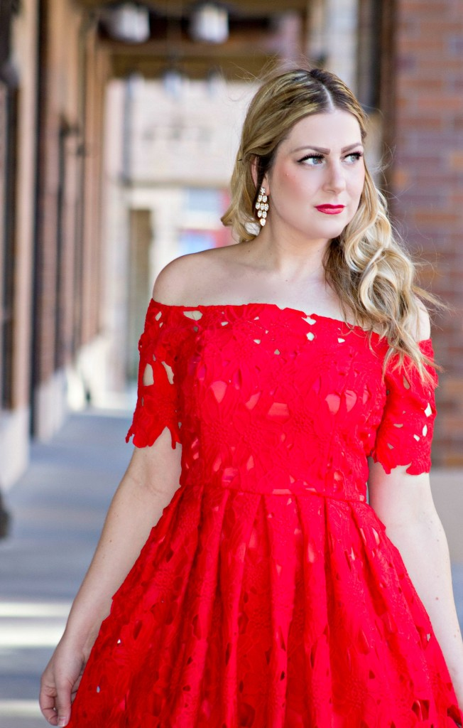 Red Dress from Chicwish