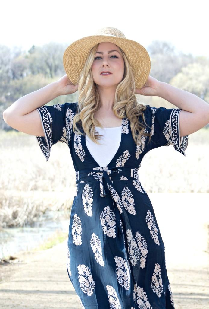 Kimono Style - spring dress
