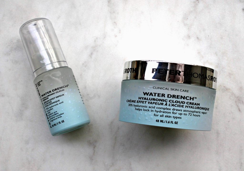 Peter Thomas Roth - Water Drench Serum and Cloud Cream