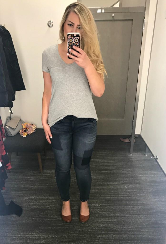 Nordstrom Anniversary Sale 2017 - Gray T-Shirt