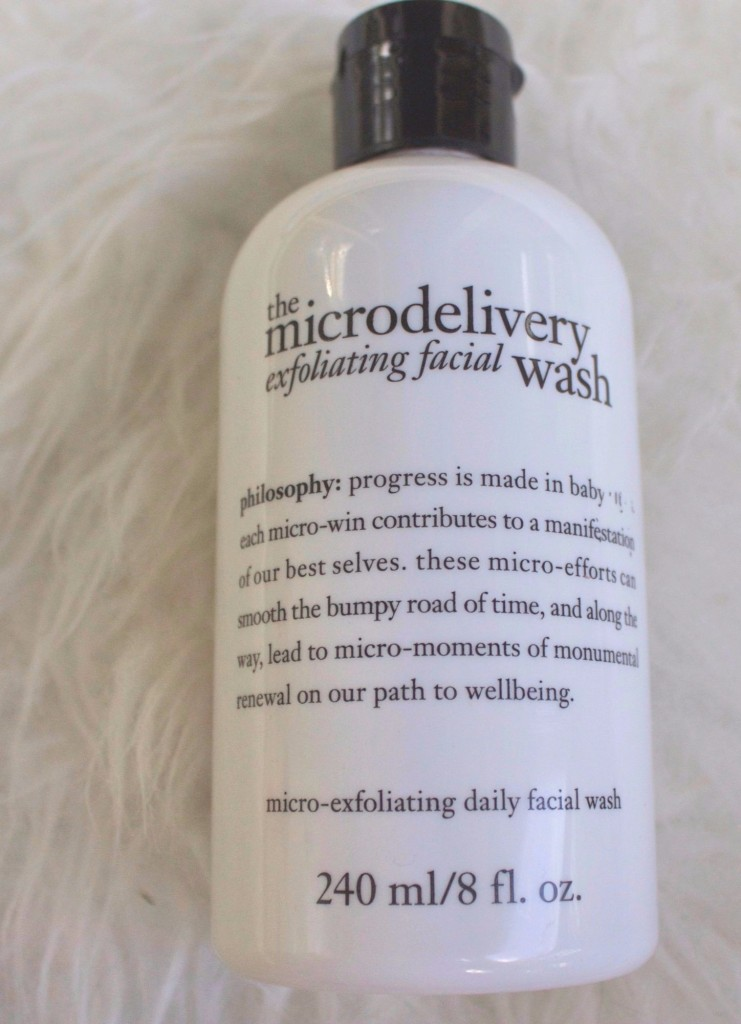 Philosophy the Microdelivery exfoliating facial wash