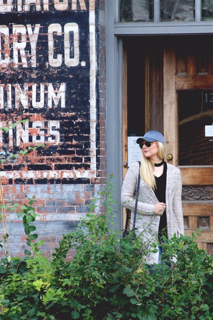 weekend wear downtown