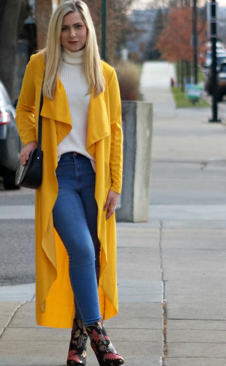 Long Yellow Coat